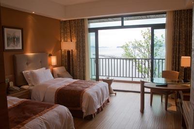 千岛湖温馨岛度假酒店双标房