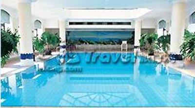 北京希尔顿酒店游泳池