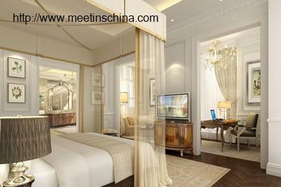 欧式酒店客房装修效果图