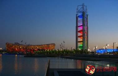 玲珑塔是2008年北京奥运会的多