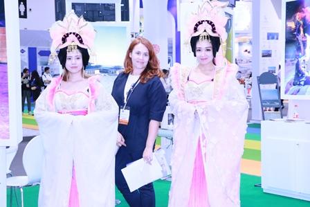 敦煌会展亮相2017年北京国际商务及会奖旅游展